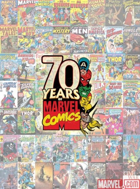70 anos de Marvel