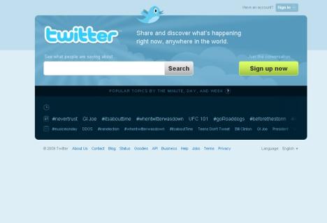 Clique na imagem para ir para a página inicial do Twitter